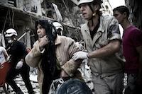 True heroes, the White Helmets